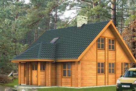 дома на основе деревянного каркаса г.Салават