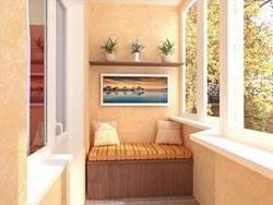 Внутренняя отделка балконов и лоджий в Салавате